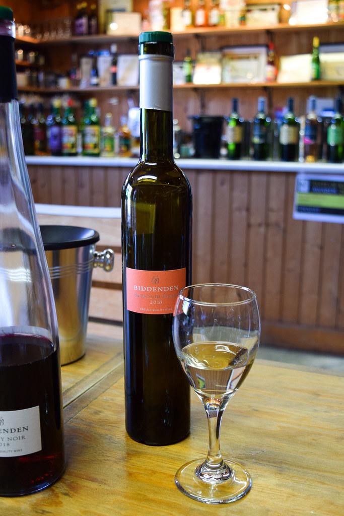 Dessert Wine at Biddenden Vineyard