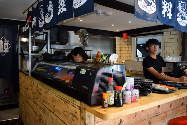 Authentic Japanese Food at Happy Samurai, Canterbury