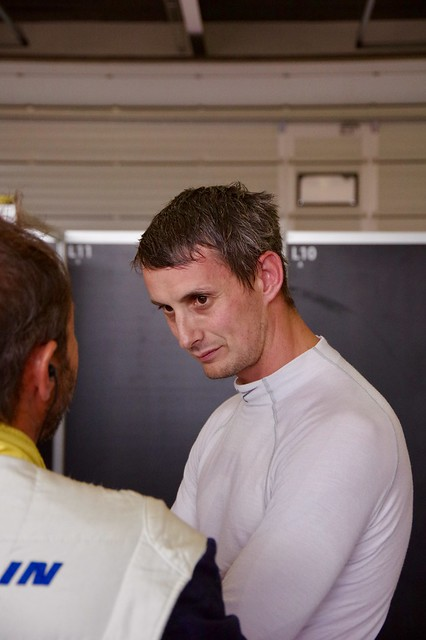 Oliver Jarvis Driver of Team LNT's Ginetta G60 LT-P1