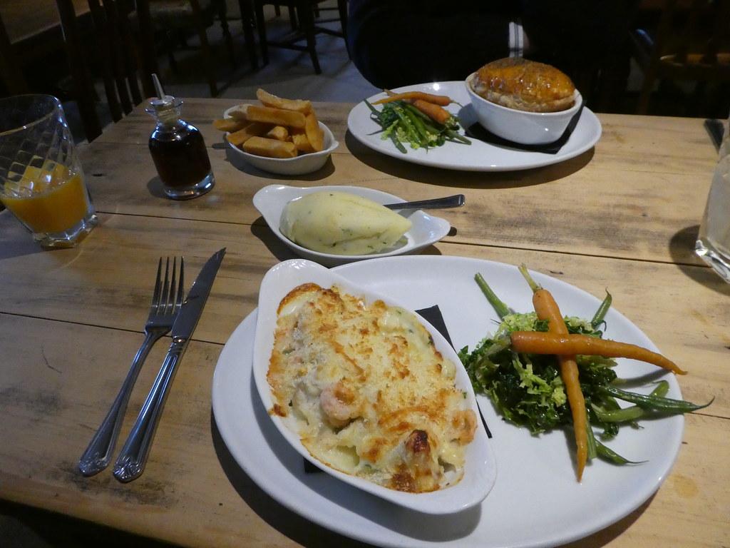 Food The Red Pump Inn, Bashall Eaves