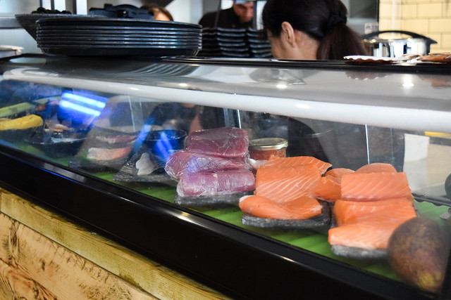 Sushi Counter at Happy Samurai, Canterbury