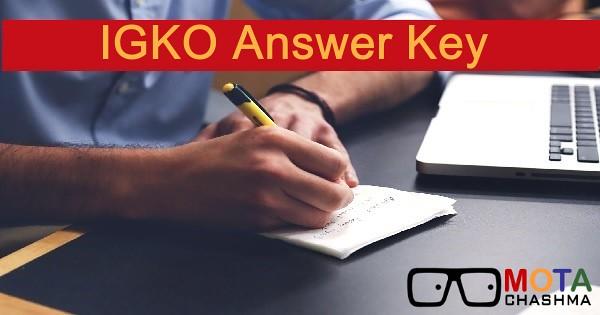 igko answer key