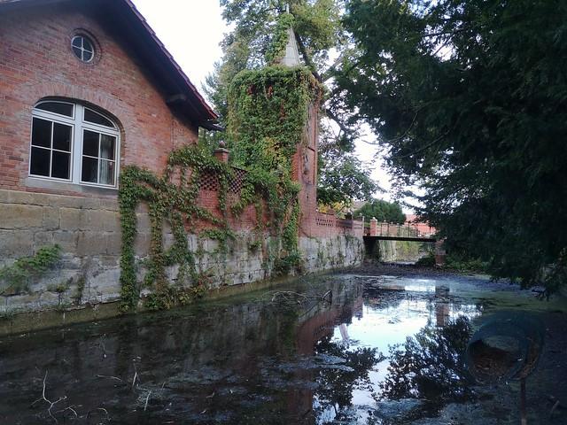 Schlossgraben Schloss Oberg