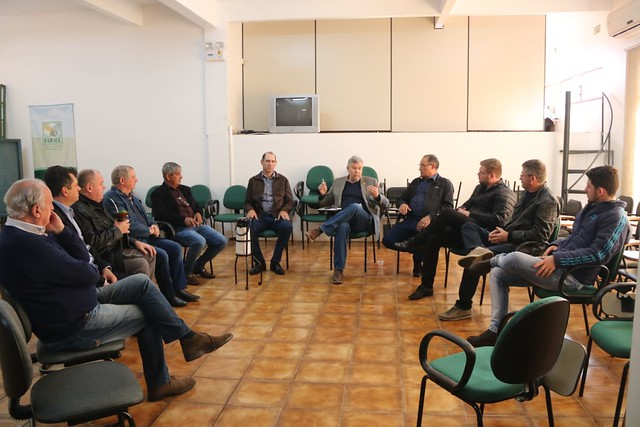 06/09/2019 Reunião com vereadores e membros progressistas no Sindicato Rural de Catuípe