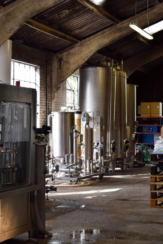 Winery at Biddenden Vineyard