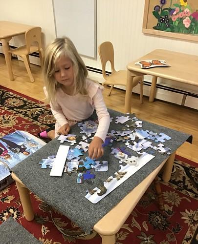 Frozen puzzle