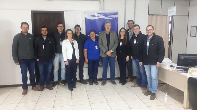 06/09/2019 Visita a Cooperativa C.Vale - Catuípe
