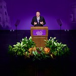 U.S. Secretary of State Michael R. Pompeo delivered the 190th Landon Lecture in the McCain Auditorium at Kansas State University in Manhattan, Kansas.