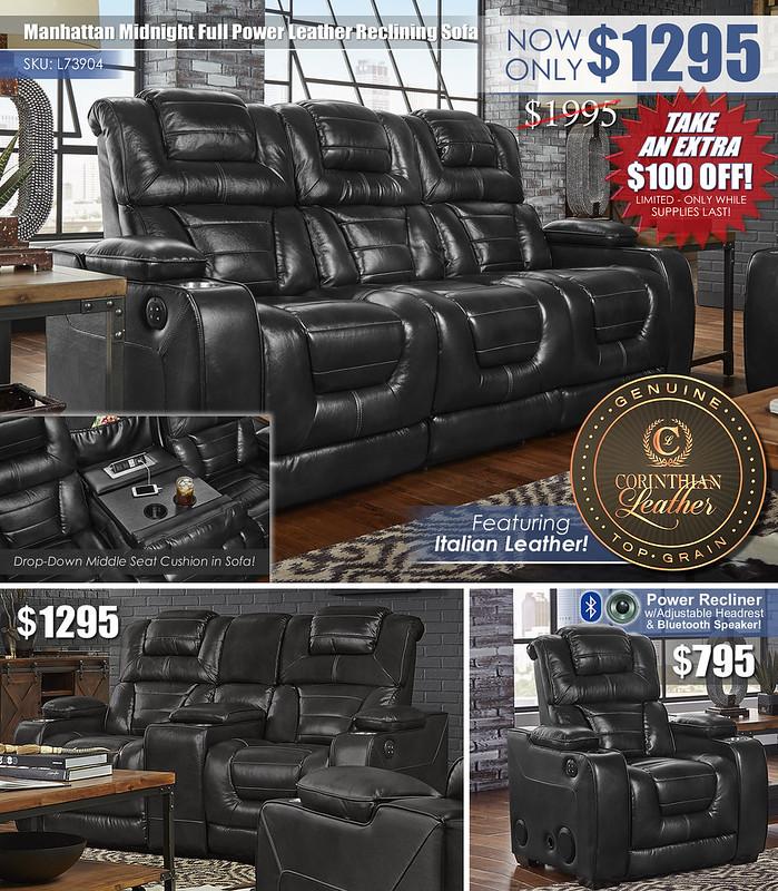 Manhattan_Midnight Reclining Sofa Layout_L73904_100 OFF
