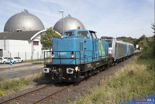 120071 . TAL + 186 510 + 186 508 . LNS . Aachen Nord . 06.09.19.