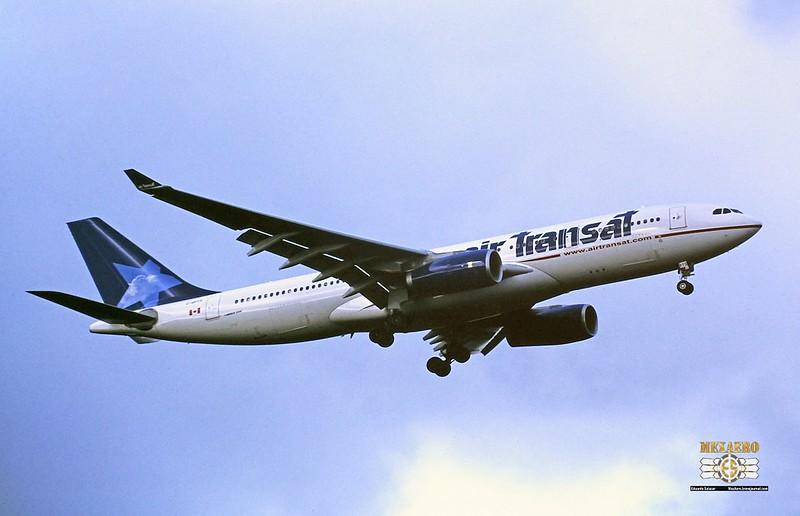 Air Transat / Airbus A330-243 / C-GPTS