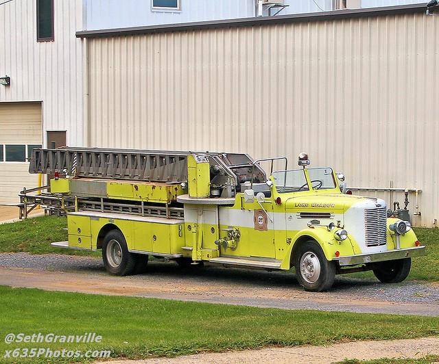 Long Meadow Volunteer Fire Company Truck 27