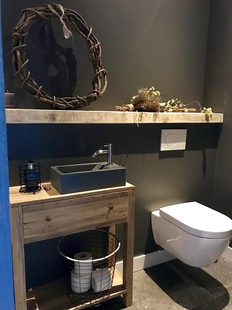 Toilet landelijk inrichten