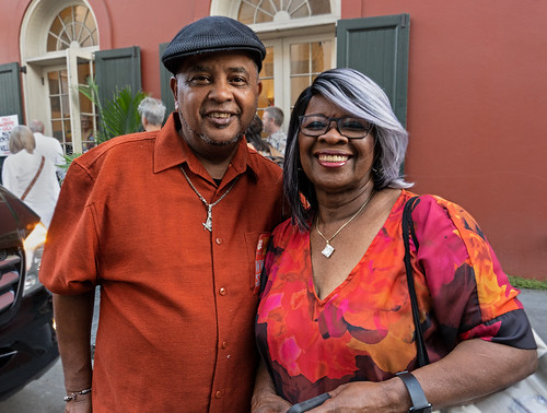 Action Jackson and Irma Thomas at WWOZ Groove Gala 2019 [Photo by Charlie Steiner]