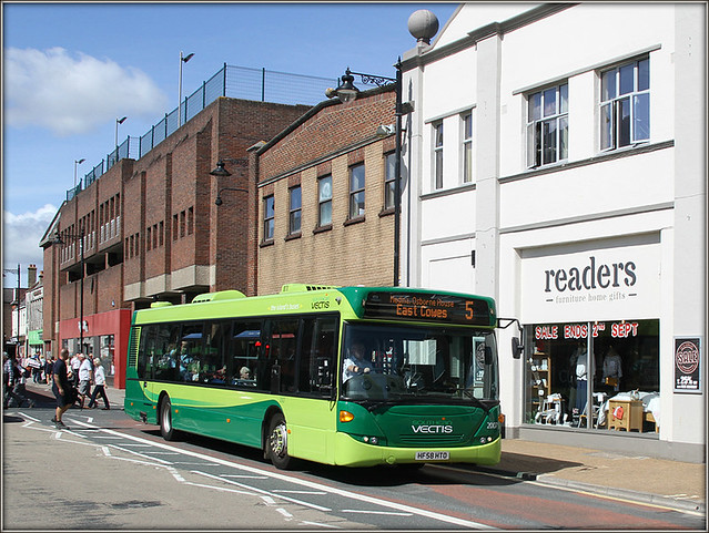 Southern Vectis 2007, Newport