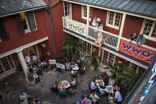 Courtyard at the Groove Gala on Sep. 5, 2019. Photo by Ryan Hodgson-Rigsbee rhrphoto.com.