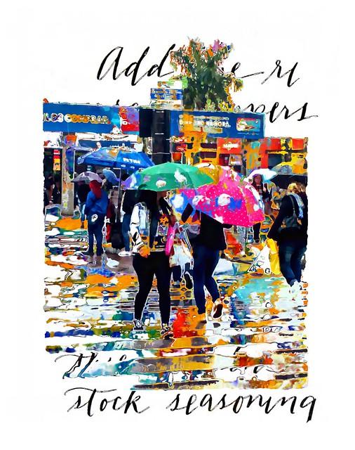 RAIN AND COLORS - FLORIPA