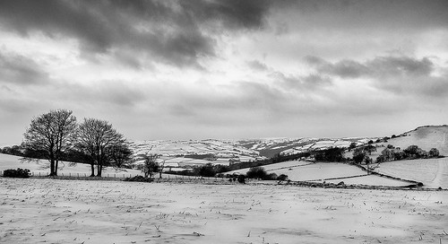 Looking towards Gaer fort Brecon Beacons