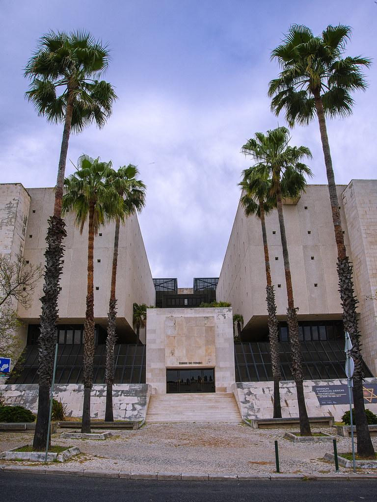 Imagem VI - Fachada Principal das atuais instalações do Arquivo Nacional Torre do Tombo