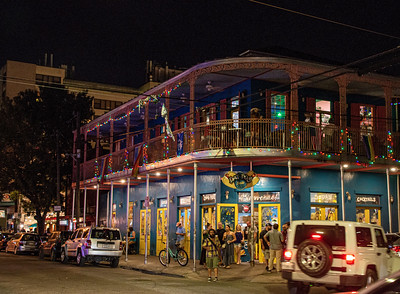 On Frenchmen Street, New Orleans