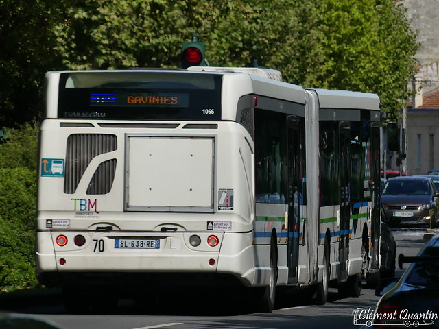 HEULIEZ BUS GX 427 - 1066 - Keolis Bordeaux Métropole