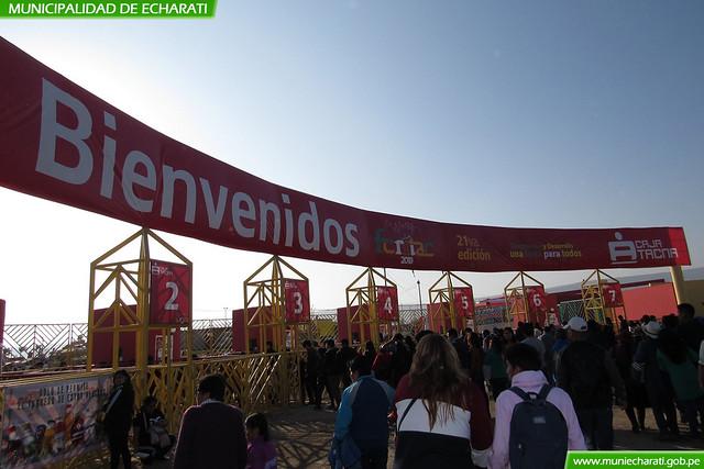Productores agroindustriales de Echarati presentes en la Feria Internacional de Tacna