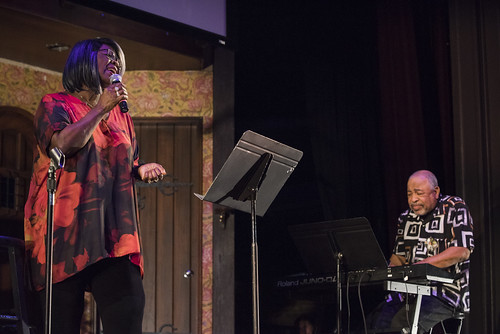 Irma Thomas at the WWOZ Groove Gala at Tableau and Le Petit Theatre in New Orleans on September 5, 2019. Photo by Ryan Hodgson-Rigsbee RHRphoto.com