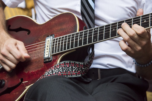 Guitar at the Groove Gala on Sep. 5, 2019. Photo by Ryan Hodgson-Rigsbee rhrphoto.com.