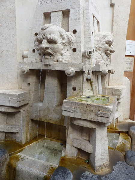 fontaine de la via Margutta