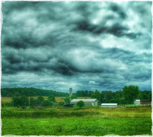 hff fences rural clouds darkskies storm ozarks missouri
