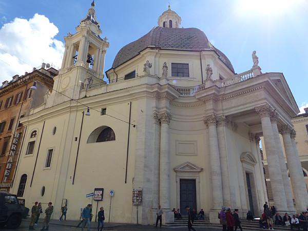 église sainte marie de Montesanto