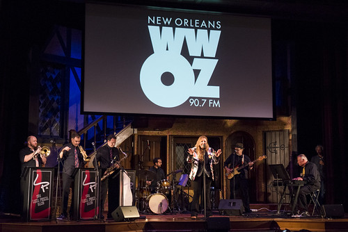 Lena Prima at the WWOZ Groove Gala at Tableau and Le Petit Theatre in New Orleans on September 5, 2019. Photo by Ryan Hodgson-Rigsbee RHRphoto.com