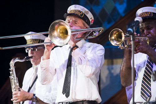 Storyville Stompers at the WWOZ Groove Gala at Tableau and Le Petit Theatre in New Orleans on September 5, 2019. Photo by Ryan Hodgson-Rigsbee RHRphoto.com