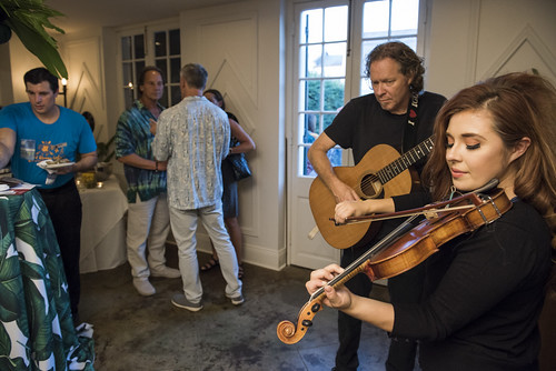 Amanda Shaw plays the VIP Oasis at the Groove Gala on Sep. 5, 2019. Photo by Ryan Hodgson-Rigsbee rhrphoto.com.