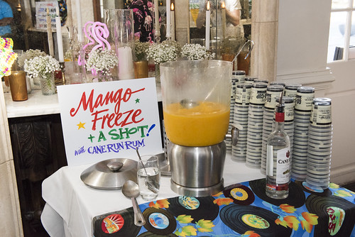 Mango Freeze drink at the Groove Gala on Sep. 5, 2019. Photo by Ryan Hodgson-Rigsbee rhrphoto.com.