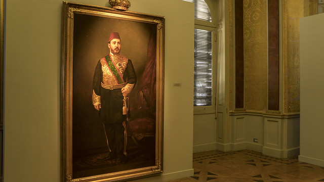 Khedive Tawfik pasha of Egypt's painting