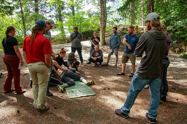 Wilderness First Responder (hybrid WFR) | August 2019