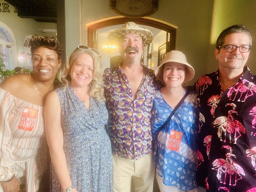 Monica Landry, Aimee DeTurk, Bill DeTurk, Ashli Richard Morris, David Stafford  at the Groove Gala - Sep. 5, 2019. Photo by Beth Arroyo Utterback.