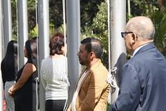 Izada de Pabellones 70 Años INCAP