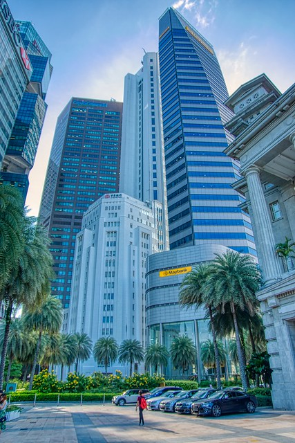 Central Business District of Singapore