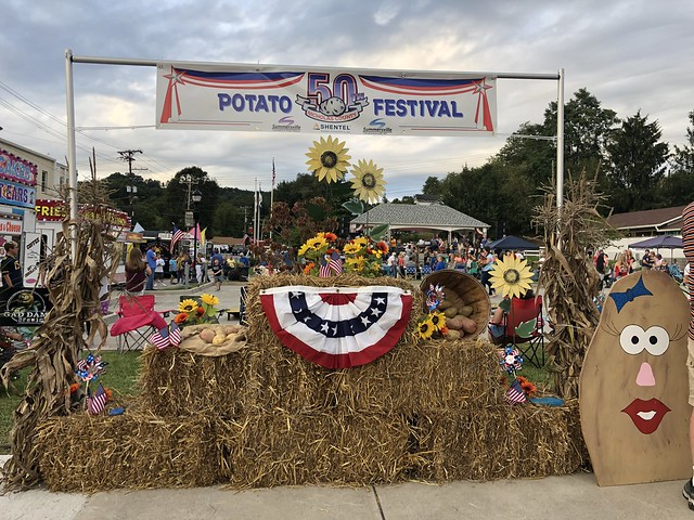 Nicholas co potato festival