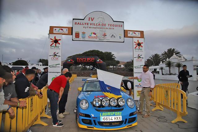 IV Rallye Villa de Teguise - Salida