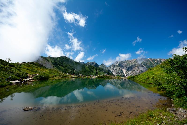 白馬 八方池 Happo Pond (Nagano)