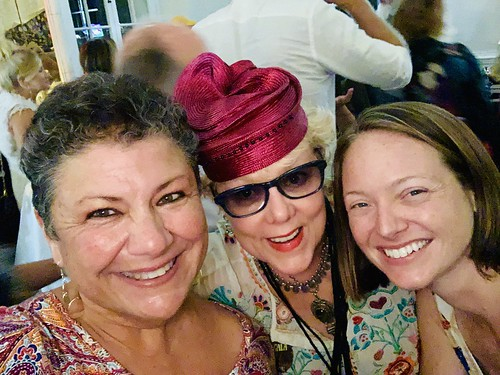 Beth Arroyo Utterback, Ruth Chouest, and Melanie Merz at the Groove Gala - Sep. 5, 2019. Photo by Beth Arroyo Utterback.