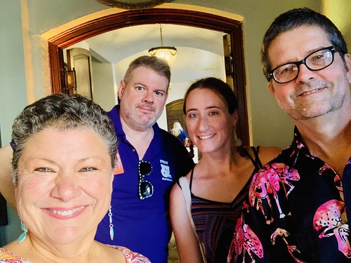 Beth Arroyo Utterback, Dave Ankers, Carrie Booher, David Stafford  at the Groove Gala - Sep. 5, 2019. Photo by Beth Arroyo Utterback.