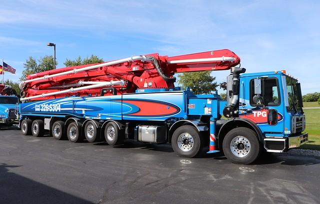 TPG Pompage De Beton Concrete Pump Truck