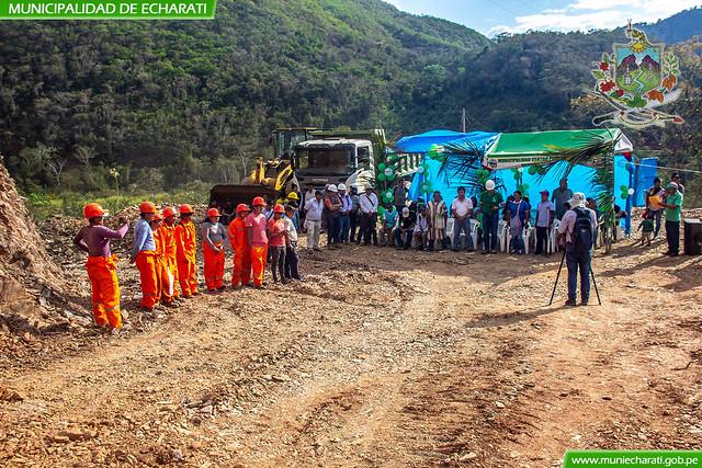 Municipalidad de Echarati inicio construcción de carretera Koribeni – Chivokiroato – Alto Confianza