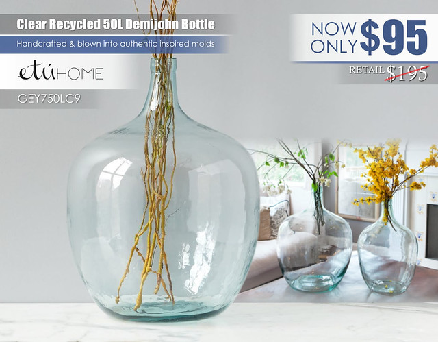 Clear Recycled 50L Demijohn Bottle_GEY750LC9-Etuhome