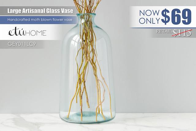 Artisanal Large Vase_GEY011LC9