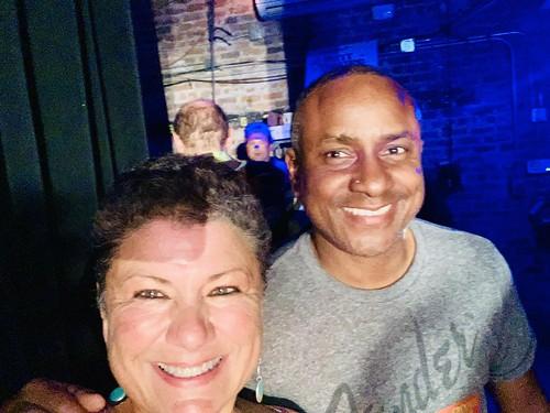 Beth Arroyo Utterback, Damond Jacob  at the Groove Gala - Sep. 5, 2019. Photo by Beth Arroyo Utterback.